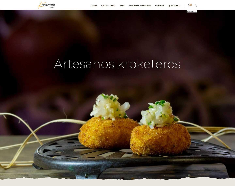 Desarrollo web Kroketak.eus